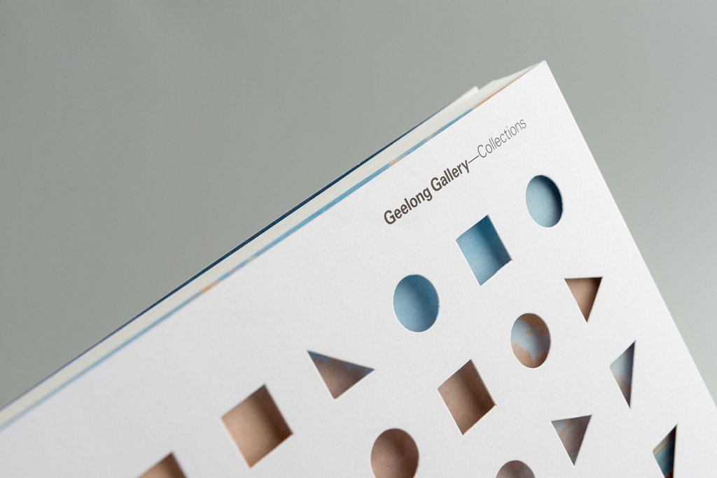 Geelong Gallery Book // Design By Pidgeon